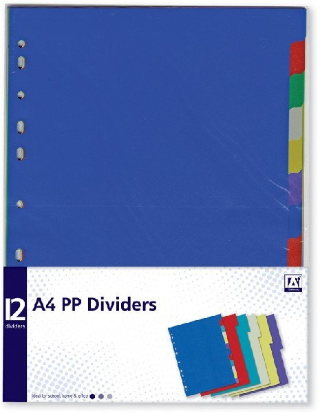A4 PP DIVIDERS