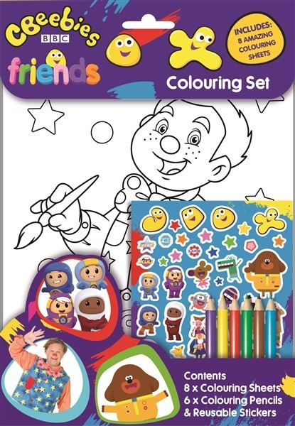 CBEEBIES COLOURING SET