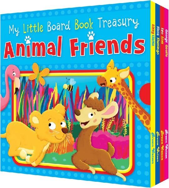 ANIMAL FRIENDS MY LITTLE BOARD BOOK