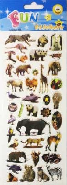 ANIMALS STICKERS 20S