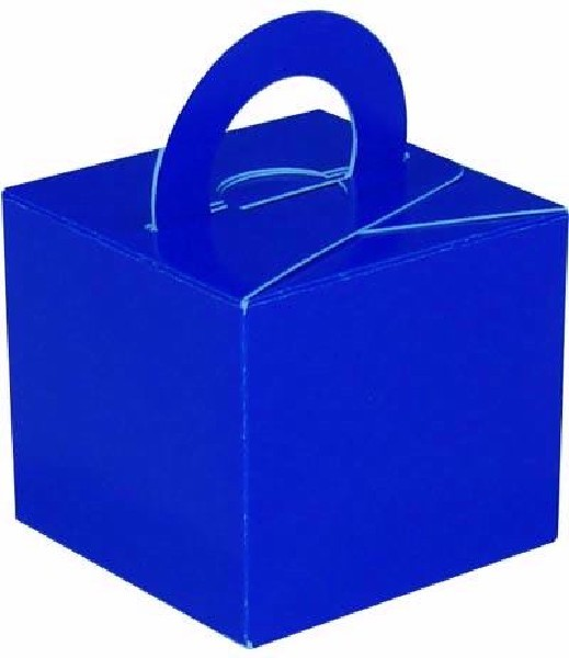 ROYAL BLUE BALLOON WEIGHT BOX 10S