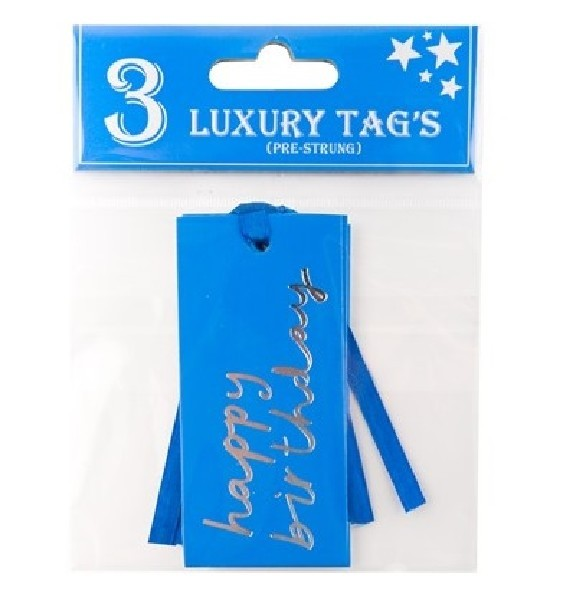 MALE TEXT GIFT TAGS 12S