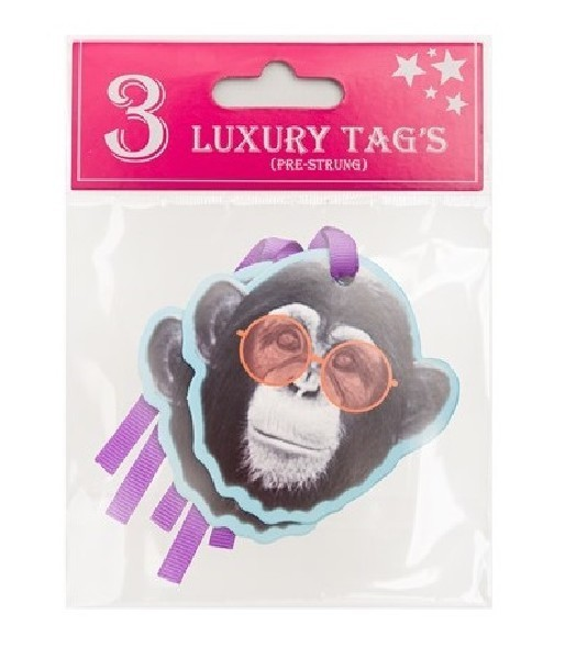 BLING ANIMALS GIFT TAGS  12S